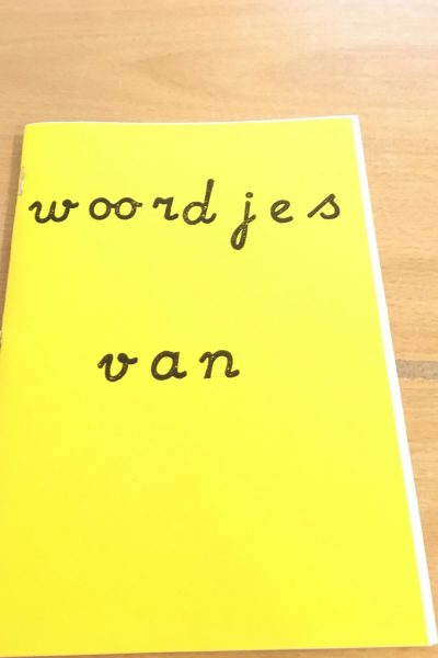 Woordjesboekje
